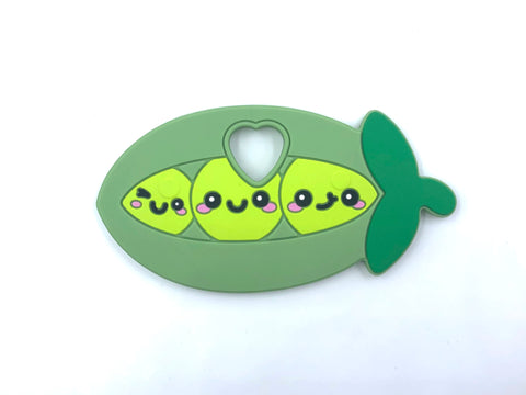 Peas in a Pod Silicone Teether