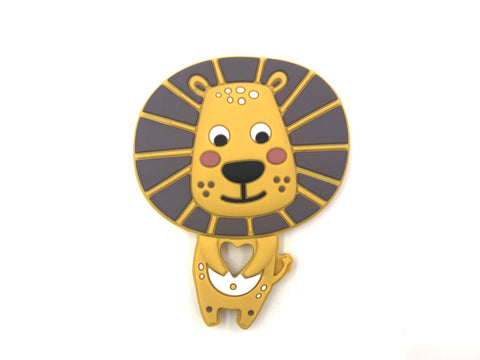 NEW! Lion Silicone Teether