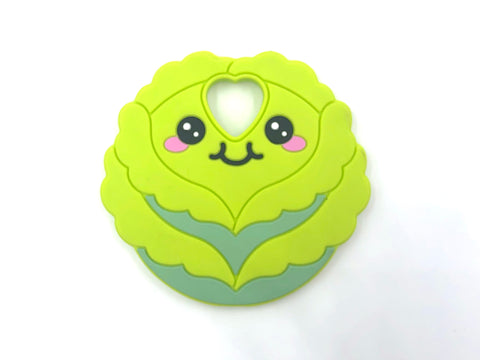 Lettuce / Cabbage Silicone Teether