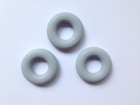 Light Gray Silicone Donut