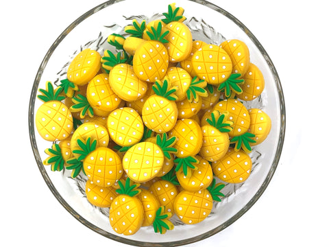 NEW! Pineapple Silicone Beads