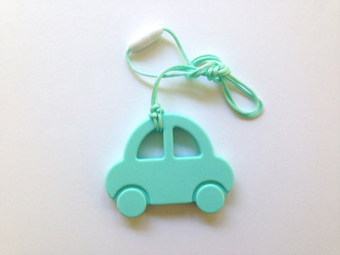 Aqua Car Silicone Teether