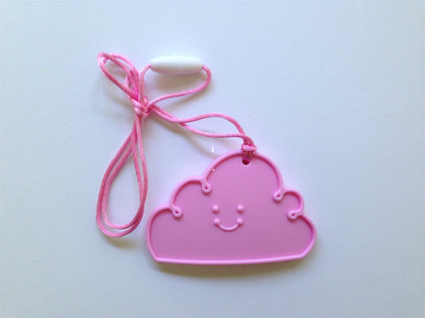 Light Pink Cloud Silicone Teether