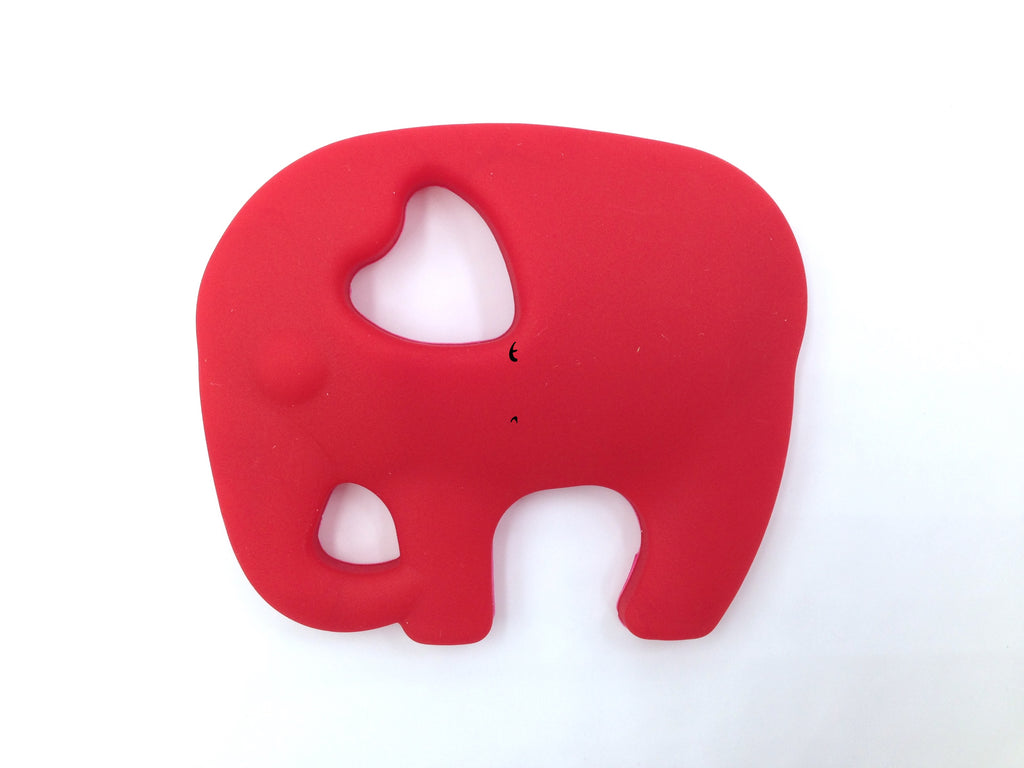 Red Elephant Silicone Teether