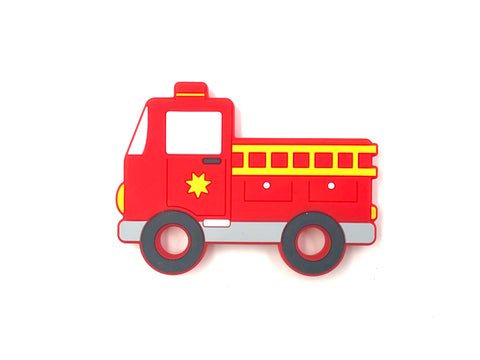 Firetruck Silicone Teether