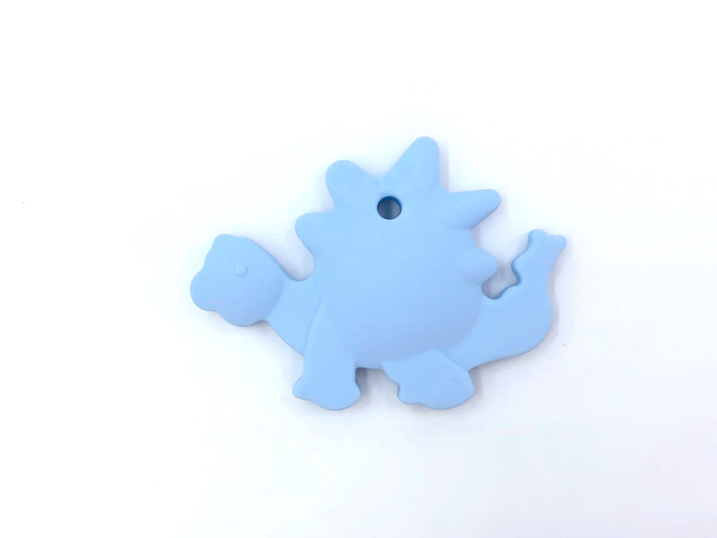 Baby Blue Dinosaur Silicone Teether