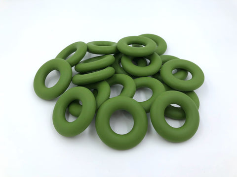 Army Green Silicone Donut