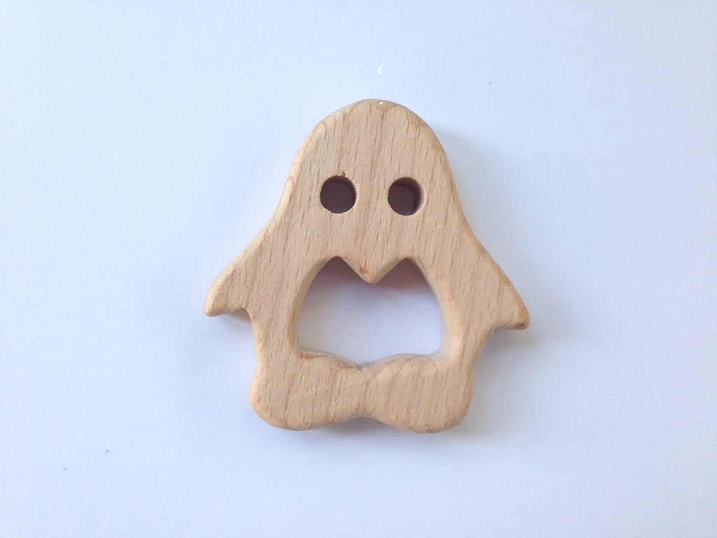 Penguin Natural Wood Teether