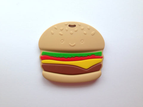 Hamburger Silicone Teether