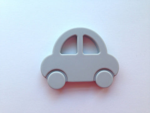 Light Gray Car Silicone Teether