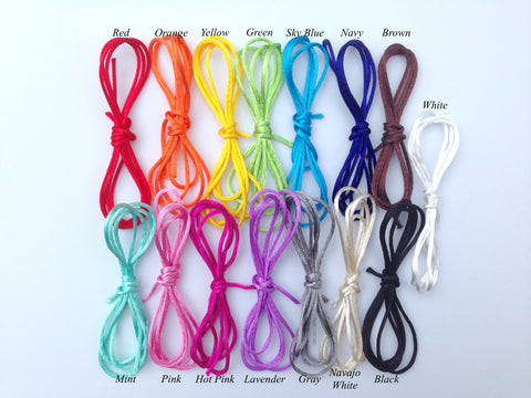 1.5mm Satin Nylon Cord