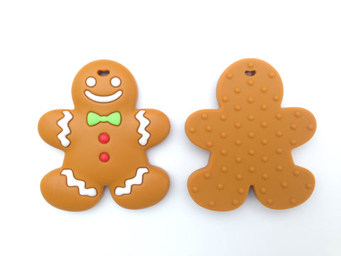 Gingerbread Man Teether