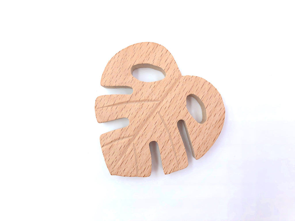 Leaf Natural Wood Teether