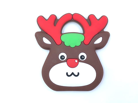 Reindeer Silicone Teether