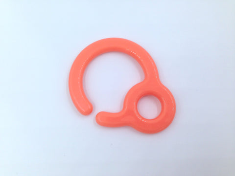 Salmon Plastic Ring Link