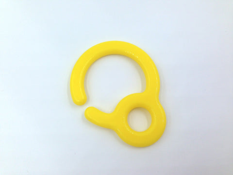 Yellow Plastic Ring Link