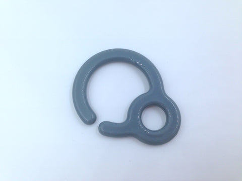 Gray Plastic Ring Link