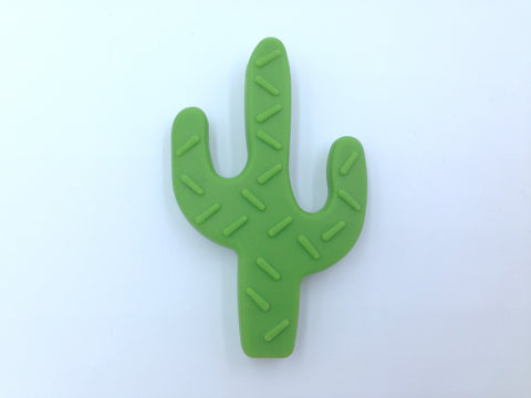 Olive Green Cactus Teether