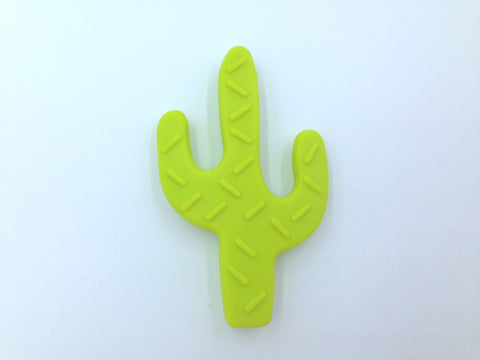 Bright Green Cactus Teether