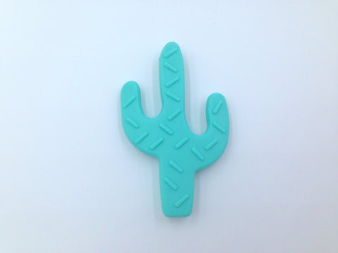 Light Turquoise Cactus Teether