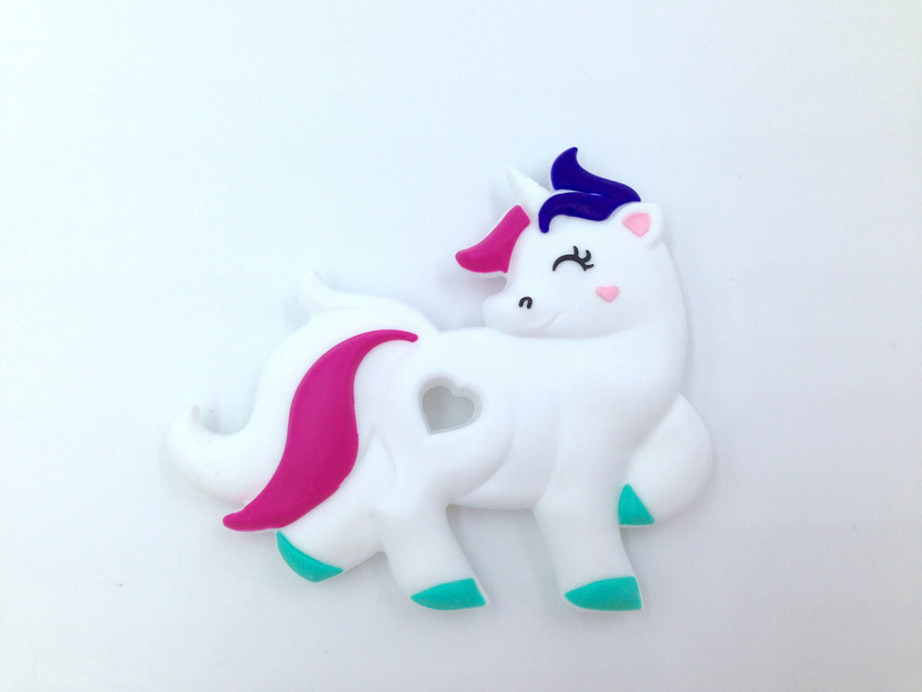 Bright Unicorn Silicone Teether