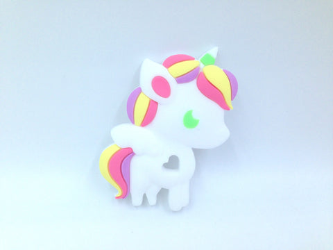 Pastel Unicorn Silicone Teether