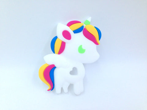 Bold Unicorn Silicone Teether