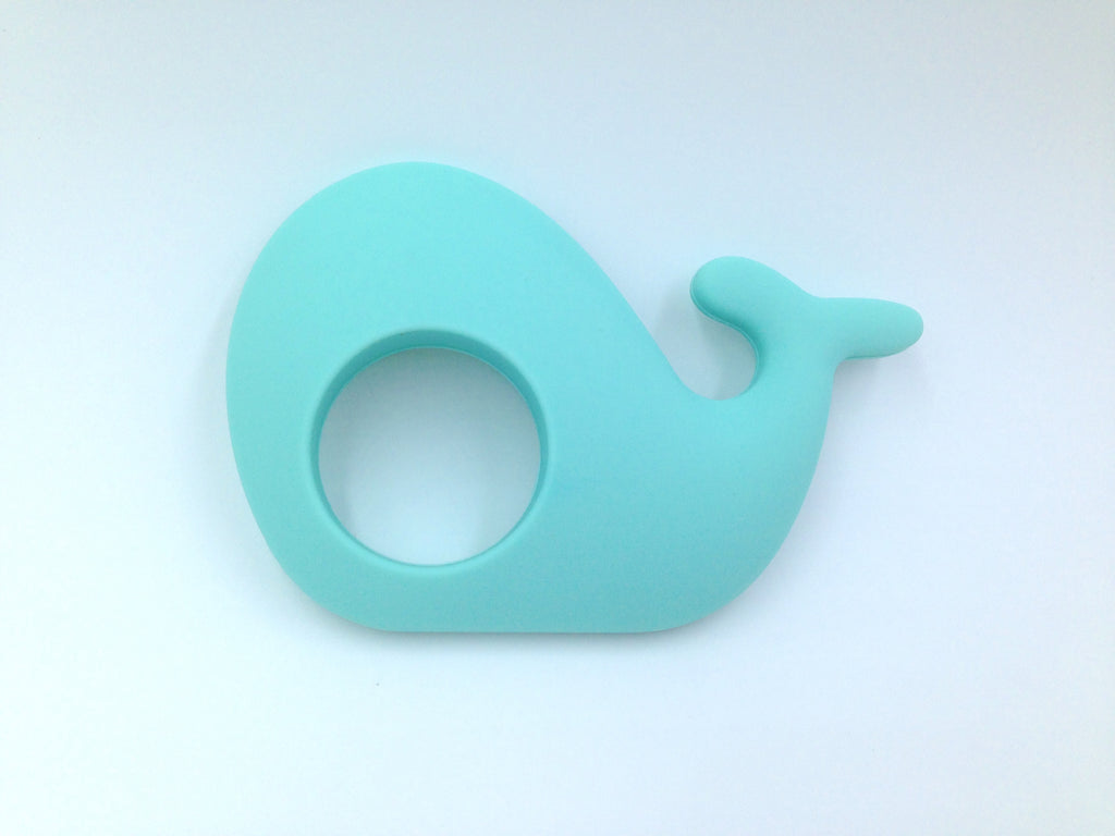 Cool Caribbean Whale Silicone Teether