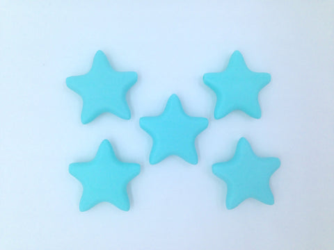 Aqua Star Silicone Teething Beads