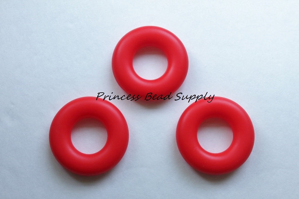 Red Silicone Donut
