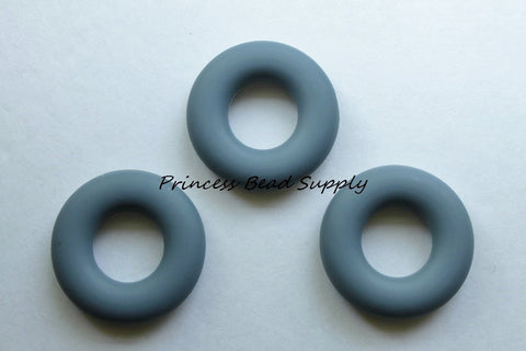 Gray Silicone Donut