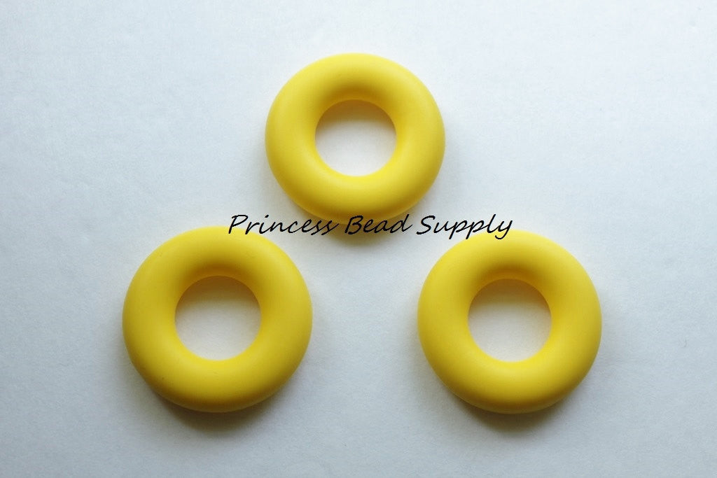 Yellow Silicone Donut