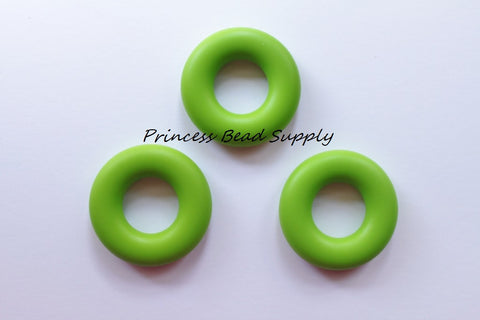 Green Silicone Donut