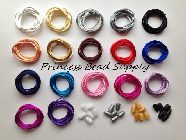 2mm Satin Nylon Cord