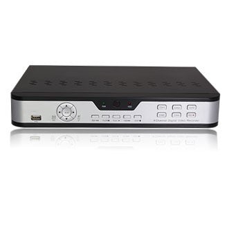 4 Channel DVR No Hard Drive