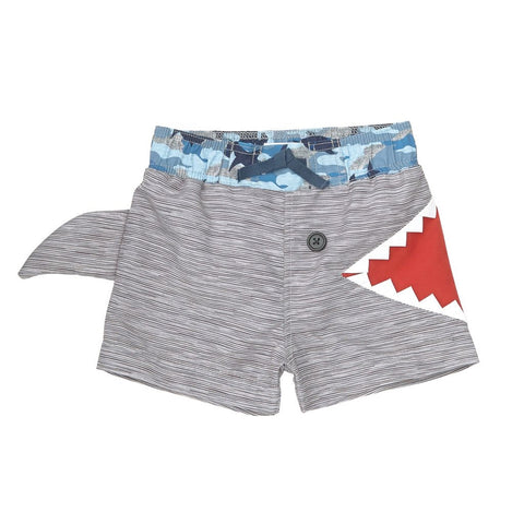 Shark Fin Swim Trunks