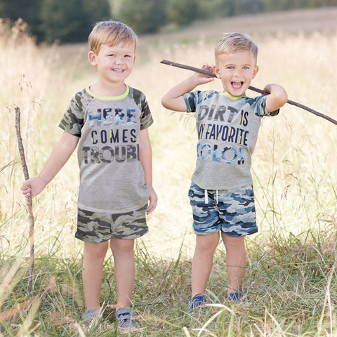Camo Youth Tees