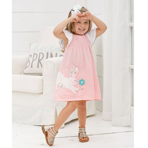 Smocked Bunny Dress