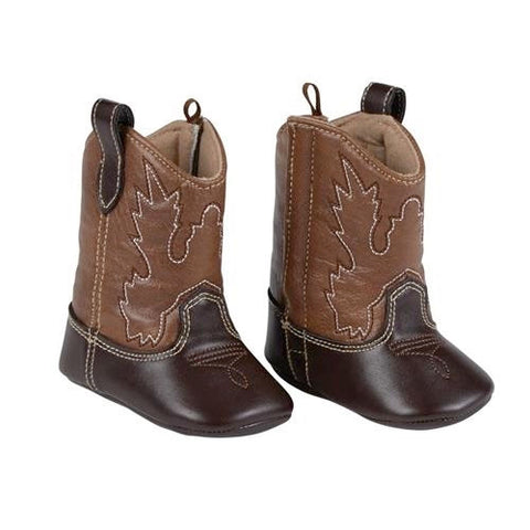 Brown Baby Cowboy Boots