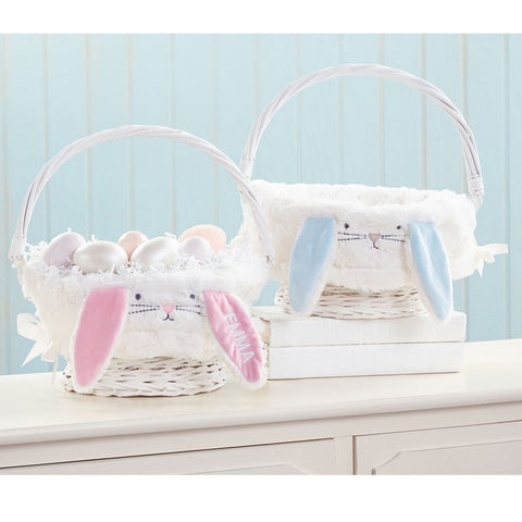 Bunny Ear Wicker Easter Baskets