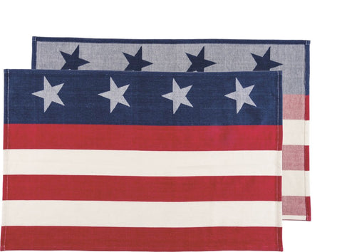 Stars And Stripes Towel