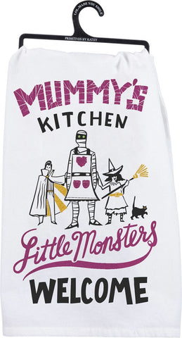 Mummy's Kitchen Dish Towel