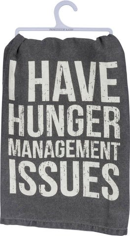 Tea Towel - Hunger Management