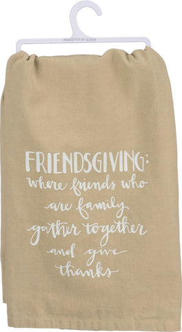 Friendsgiving Dish Towel