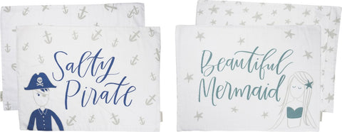 Pillow Case Set - Mermaid