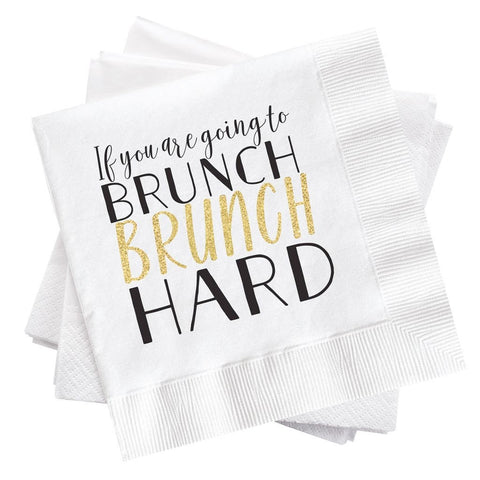 Brunch Paper Napkins
