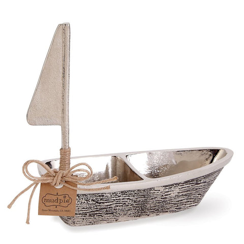 Metal Sailboat Double Dip Set