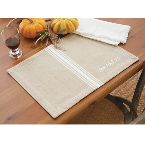 Grainsack Thankful Placemat