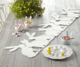 Stitched Bunny Table Runner