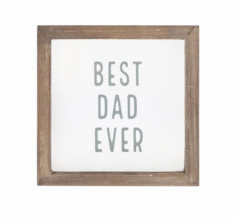 Best Ever Small Square Plaques With Multiple Sayings